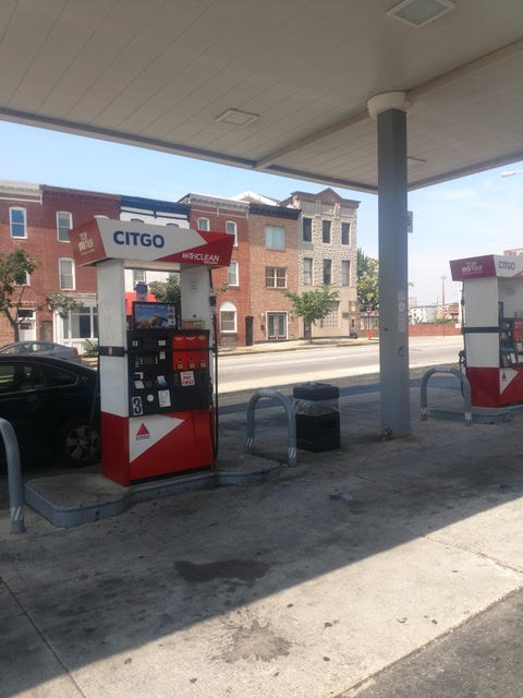 Citgo Gas Station in Baltimore
