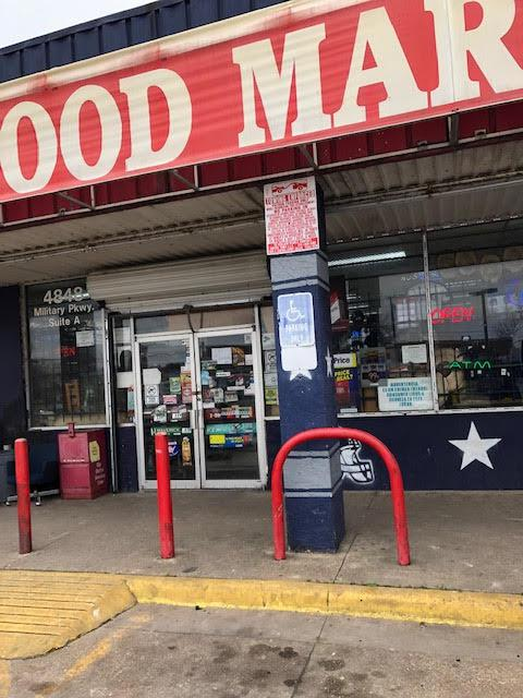 Seven Star Food Mart on Military