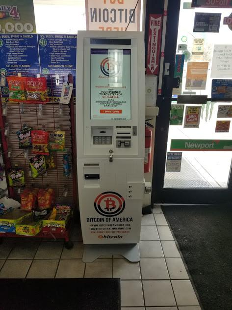 Crown Point Bitcoin AMT BP Gas Station-W Lincoln Hwy