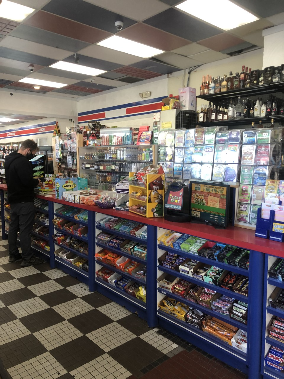 Flint Bitcoin AMT Sunoco Gas Station-Miller Road
