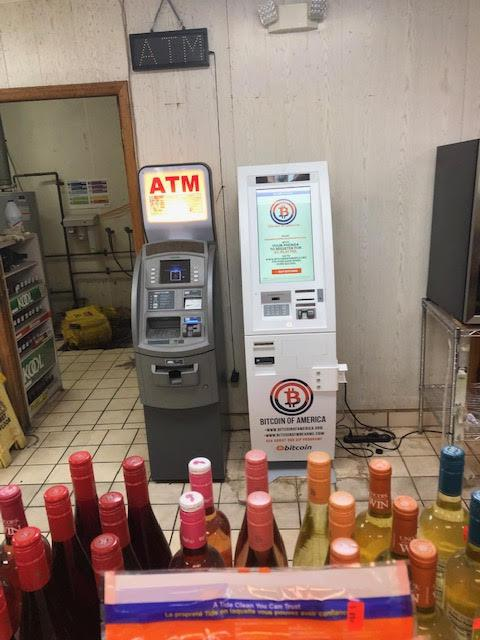 Charlotte Bitcoin AMT Citgo Gas Station-The Plaza