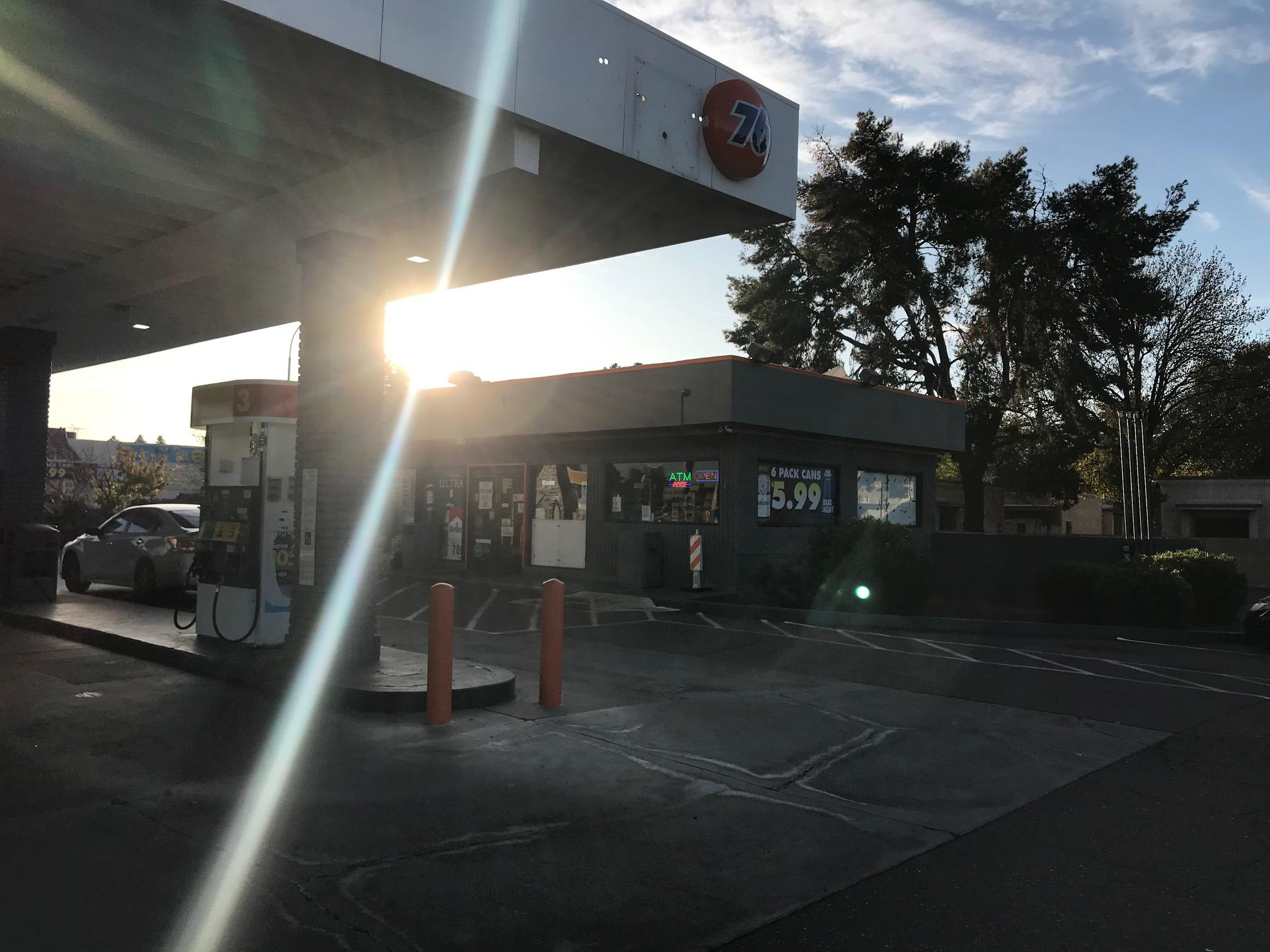 Shell Gas Station-Olive Avenue